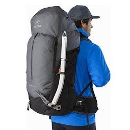 Bora AR 63 Backpack Titanium Ice Axe Attachment