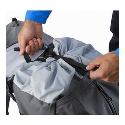 Bora AR 63 Backpack Titanium Rolltop Closure 2