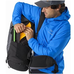 Bora AR 63 Backpack Titanium Side Access