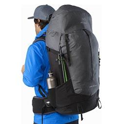 Bora AR 63 Backpack Titanium Side Pocket