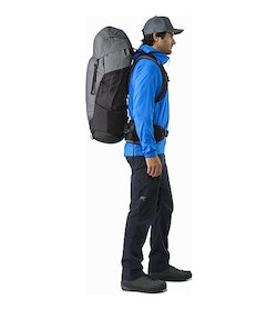 c90dae56626 Bora AR 63 Backpack Titanium Side View