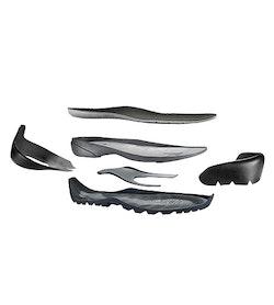 Bora Mid GTX Chaussure de randonnée Femme Black Mid Seaspray Chaussure décomposée