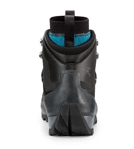 Bora Mid GTX Hiking Boot Women's Black Mid Seaspray Rear View