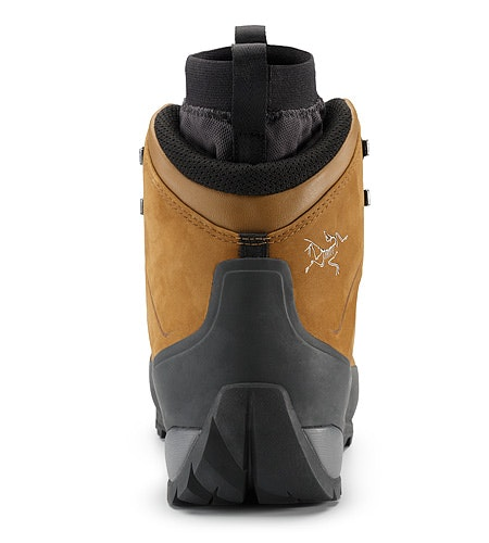 Bora Mid Leather GTX Hiking Boot Cedar Graphite Back View