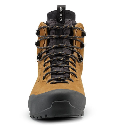 Bora Mid Leather GTX Hiking Boot Cedar Graphite Front View