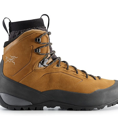 Bora Mid Leather GTX Hiking Boot Cedar Graphite Side View