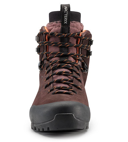 Bora Mid Leather GTX Hiking Boot Women's Redwood Andromedea Front View