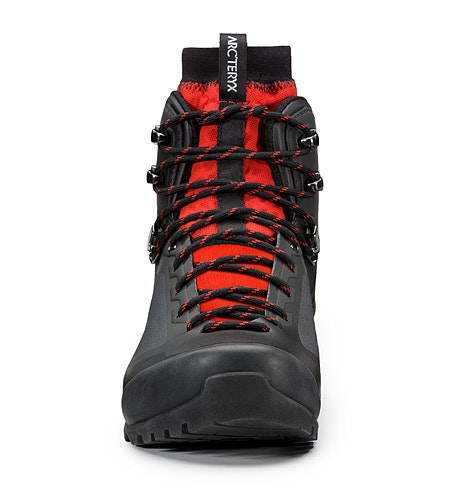 Bora2 Mid Hiking Boot Black Cajun Front View