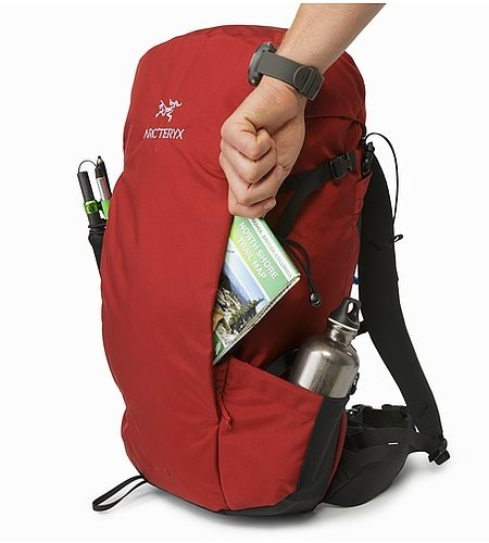 Brize 32 Backpack Red Beach Front Pocket