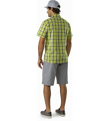 Brohm Shirt SS Chloroplast Rückansicht