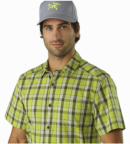 Chemise Brohm MC Chloroplast Col ouvert