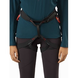 C-quence Harness Women's Black Dynasty Front View