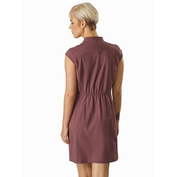 Cala Dress Women's Inertia Back View 1