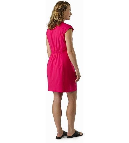 Cala Dress Women's Ixora Back View