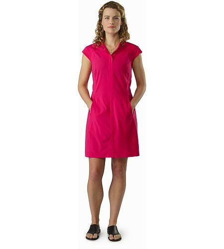 Cala Dress Women's Ixora Front View