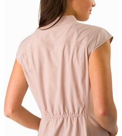 Cala Dress Women's Kirigami Back Detail