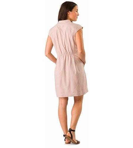 Cala Dress Women's Kirigami Back View