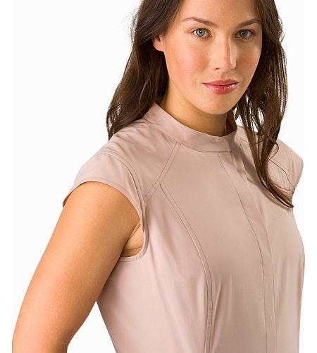 Cala Dress Women's Kirigami Closed Collar