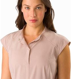 Cala Dress Women's Kirigami Open Collar