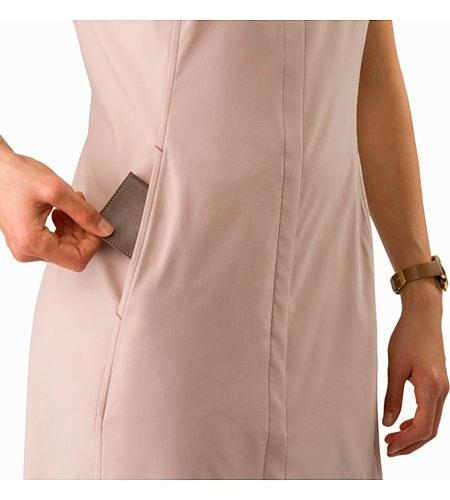 Cala Dress Women's Kirigami Security Hand Pocket