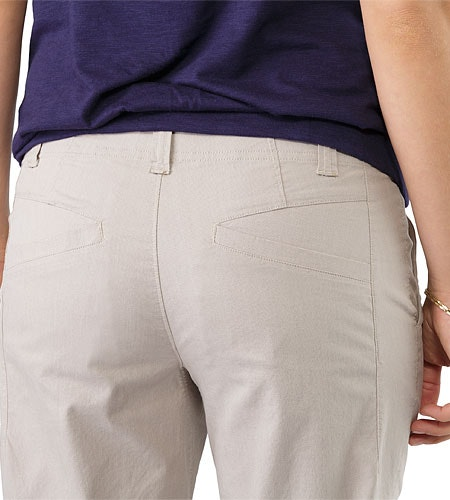 Camden Pantalon Chino Femmes Bone Poche extérieure à l'arrière