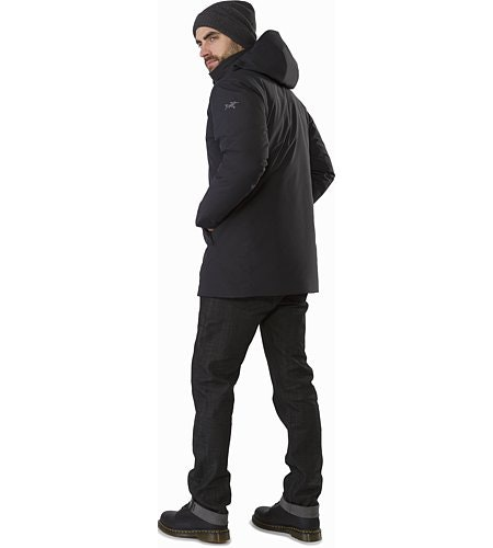 Camosun Parka Black Back View