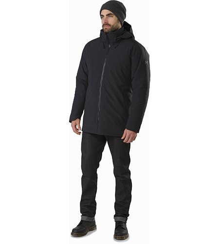 Camosun Parka Black Front View
