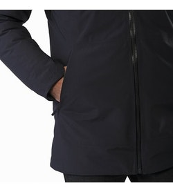 Camosun Parka Black Hand Pocket