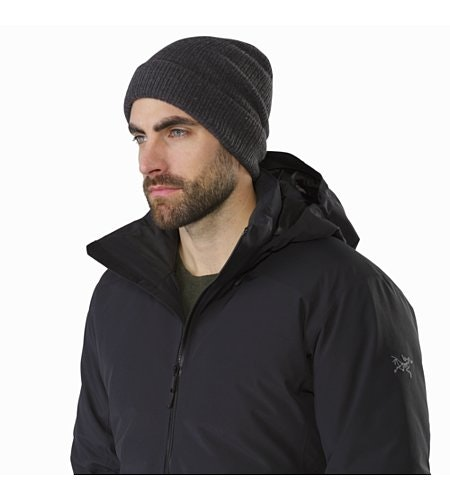 Camosun Parka Black Open Collar