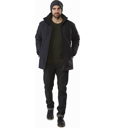 Camosun Parka Black Open View