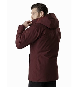 Camosun Parka Flux Back View