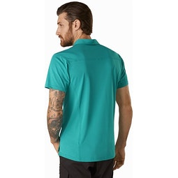 Captive Polo Shirt SS Illusion Back View