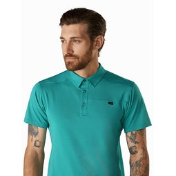 Captive Polo Shirt SS Illusion Collar