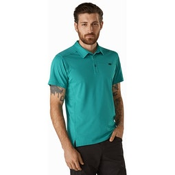 Captive Polo Shirt SS Illusion Front View