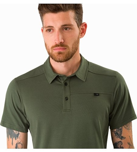 Captive Polo Shirt SS Larix Collar