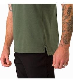 Captive Polo Shirt SS Larix Hem Detail