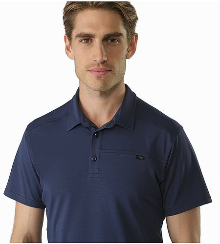 Captive Polo Shirt SS Nighthawk Open Collar