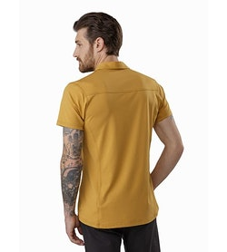Captive Polo Shirt SS Ore Back View