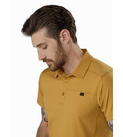 Captive Polo Shirt SS Ore Collar