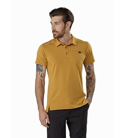 Captive Polo Shirt SS Ore Front View