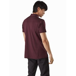 Captive Polo Shirt SS Ultima Back View