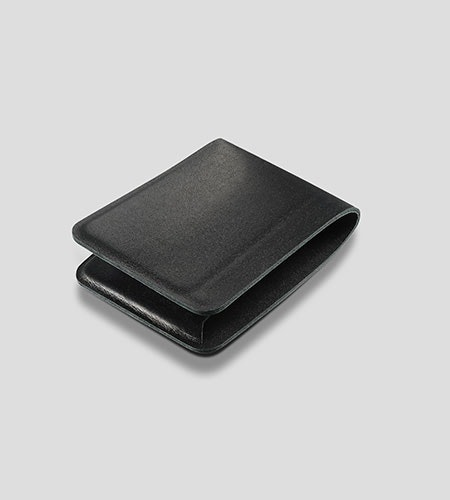 Casing Billfold 78mm Black Folded