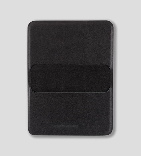 Casing Card Wallet Black Front