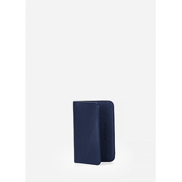 Casing Card Wallet Navy Folded View 2