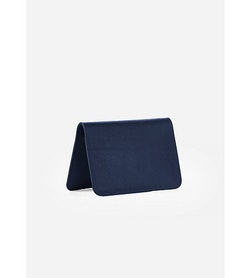 Casing Card Wallet Navy Folded View