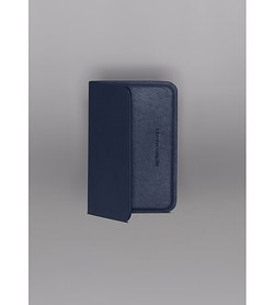 Casing Card Wallet Navy Folded