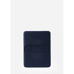 Casing Card Wallet Navy Front