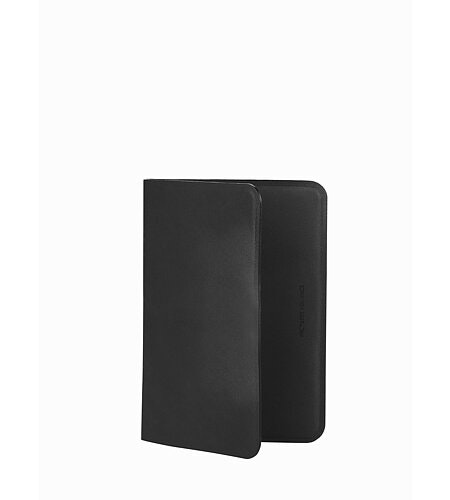 Casing Passport Wallet Black Folded