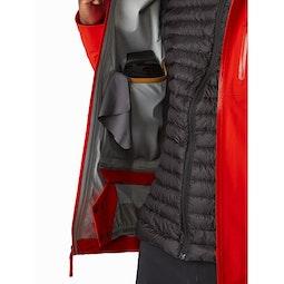 Cassiar Jacket Dynasty Internal Dump Pocket