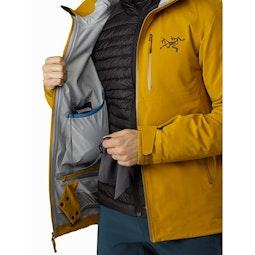 Cassiar Jacket Midnight Sun Internal Dump Pocket